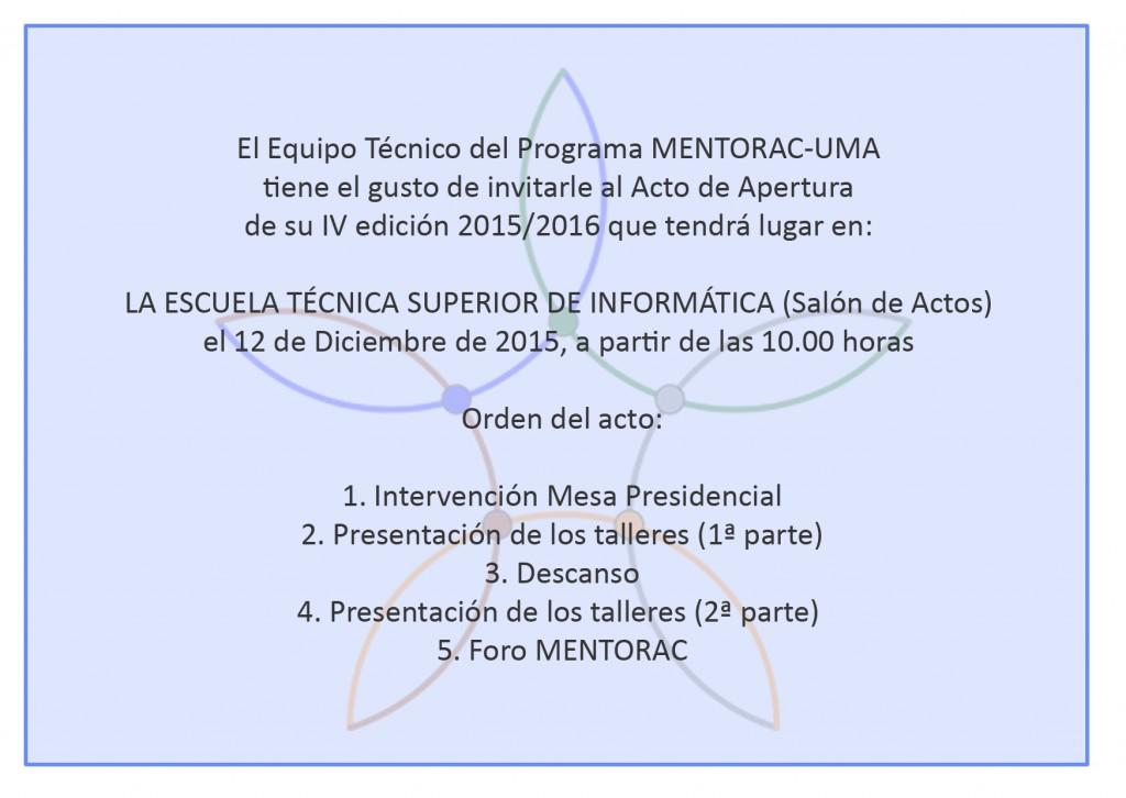 Invitacion IV Mentorac