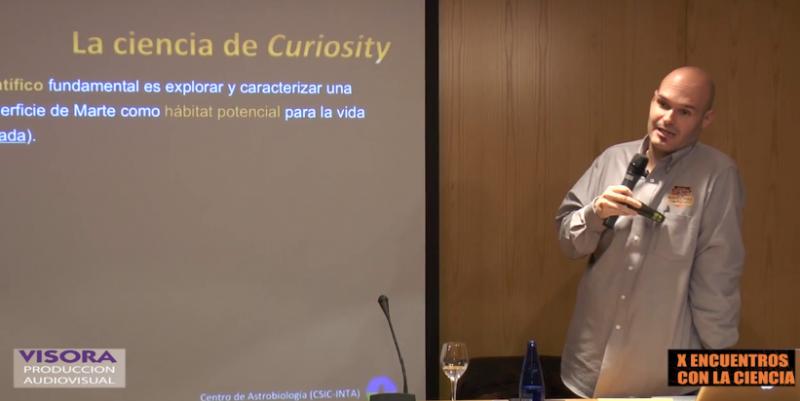 """Vídeo de la conferencia """"Los retos de la exploración de Marte"""""""