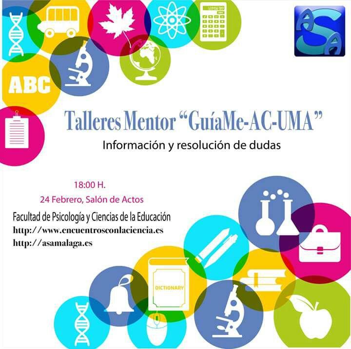 """Reunión informativa Talleres Mentor """"GuíaMe-AC-UMA"""""""