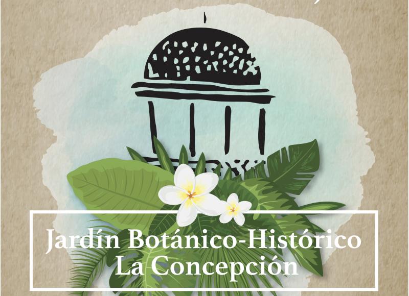 Abierta la inscripción para la visita guiada Jardín Histórico de La Concepción el próximo 28 de julio