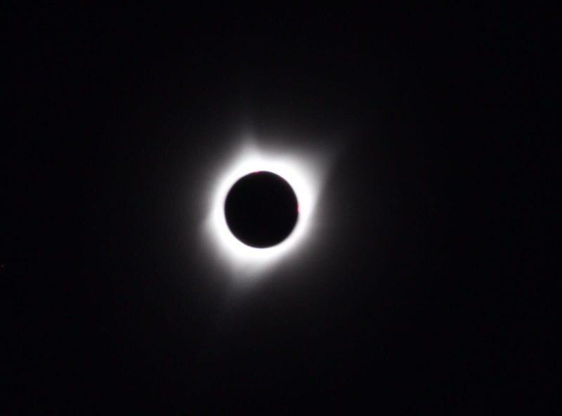 El eclipse solar narrado en directo desde EEUU