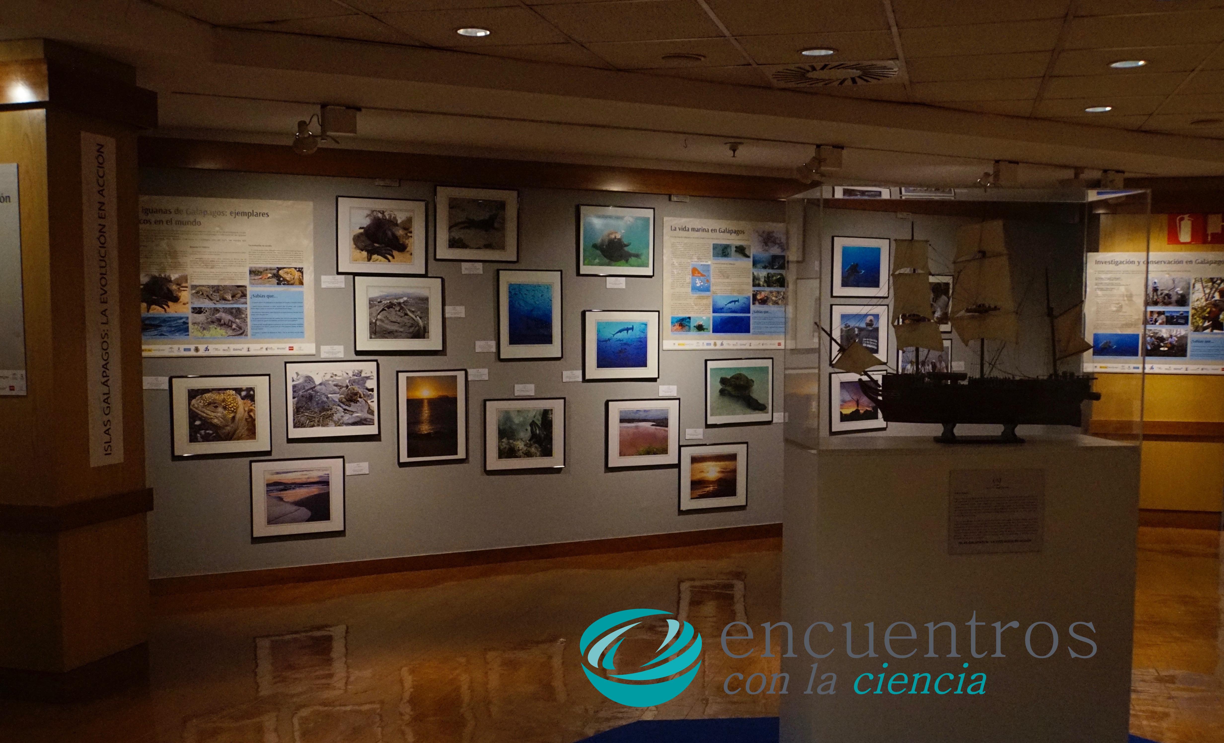 "Exposición ""Islas Galápagos: la evolución en acción"""