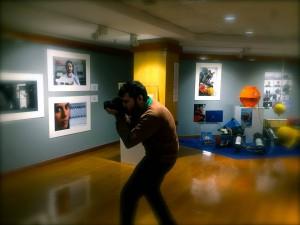 El fotógrafo, fotografiado...