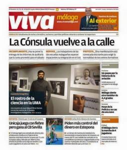 Portada diario Viva Málaga
